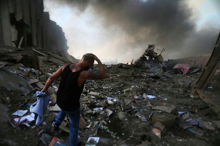 Massive Beirut blast